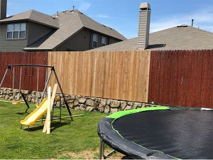 fence repair - after