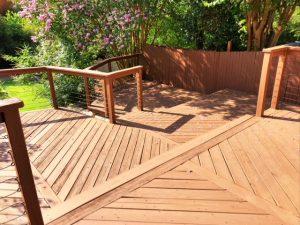 deck lower level