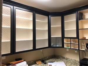 Small Office Custom Cabinets