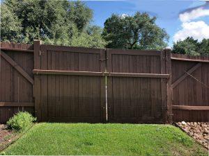 Side double gate