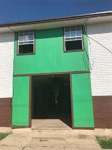 Apartment facade - before
